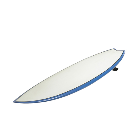 surf board on white background Imagens