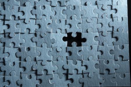 jigsaw puzzle concept Standard-Bild - 117871917