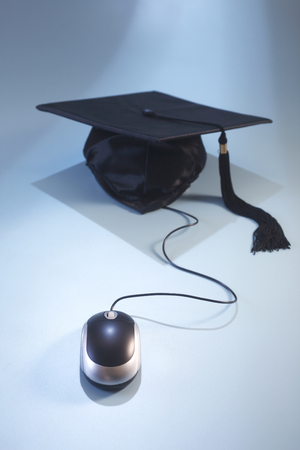 concept shot of the e learning or online education Stock fotó