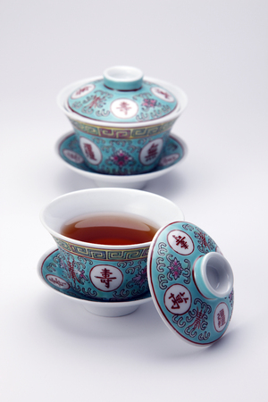 stock image of the tea cup Banque d'images