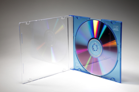 Blank CD Jewel Case. Fill it in with your own graphic.