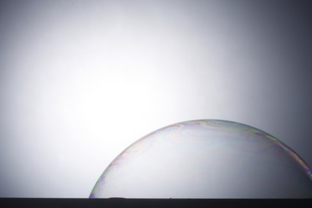 stock image of the super  soap bubble 版權商用圖片