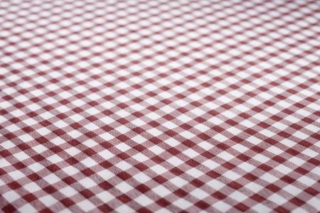 Stock image of maroon checkered cloth. Banco de Imagens