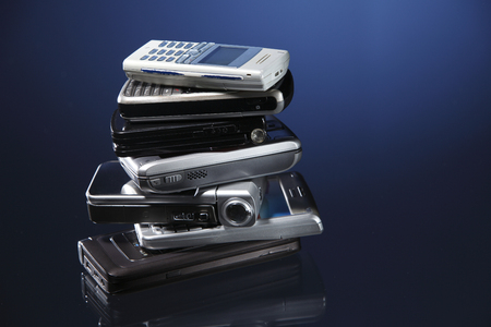 stock image of the mobile phone Stockfoto - 117689322