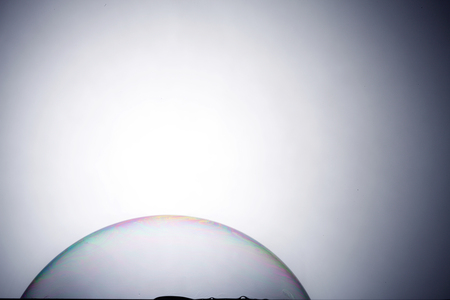 stock image of the super  soap bubble 免版税图像 - 117690600