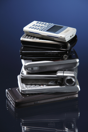 stock image of the mobile phone Stockfoto