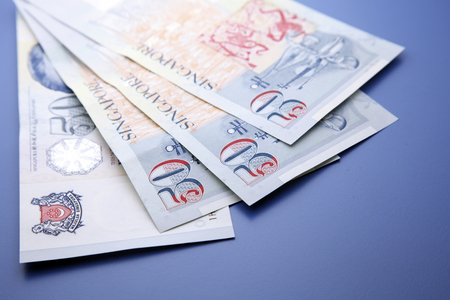 stock image of the bank note or currency Stock Photo