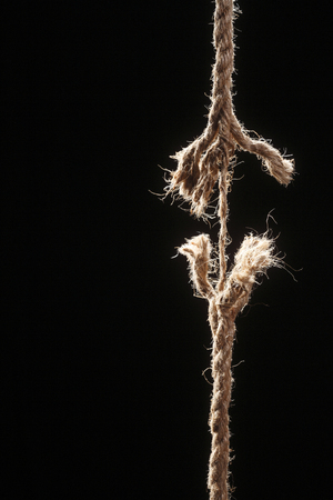 stock image of the straw rope