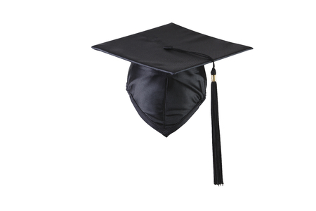 stock image of the back view o the mortar board