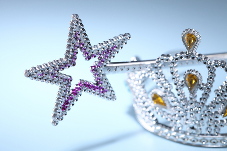 Tiara and a Star Shaped Wand