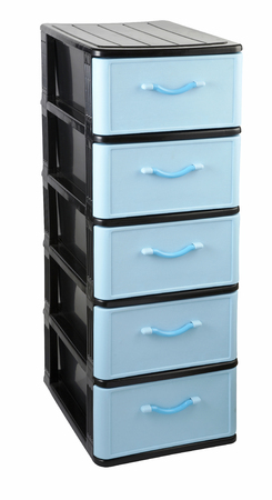 Drawer set with clipping path Banco de Imagens - 117837869