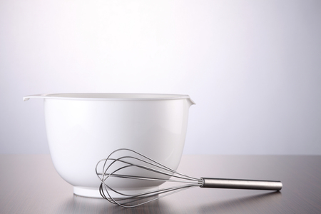 Wire Whisk and a mixing bowl
