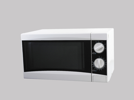 Microwave oven with clipping path Imagens