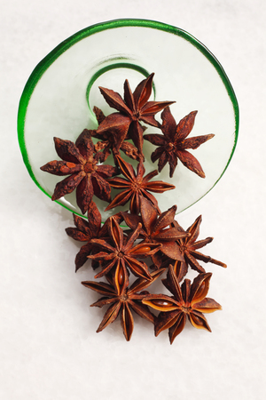 top view of the anise star