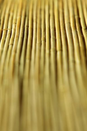 full frame of the bamboo mat Фото со стока