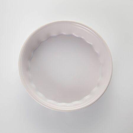widok z góry naczynia do pieczenia