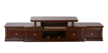 classic tv cabinet with clipping path