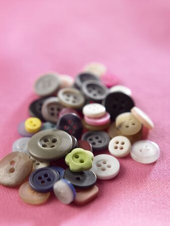 close up of the bunch of the buttons