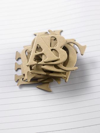 brown diet cut alphabet step together
