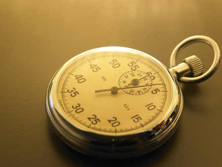 close of the stop watch Imagens