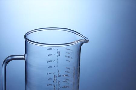 close up of the measuring jar Фото со стока
