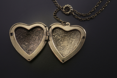 heart shape of the necklace