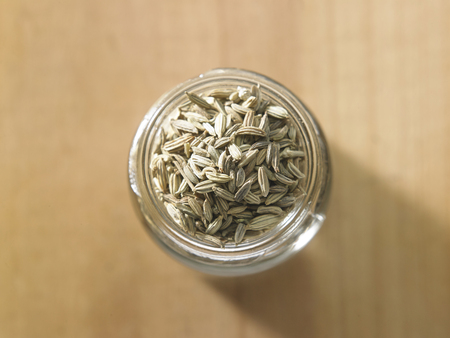 close up of the cumin seeds