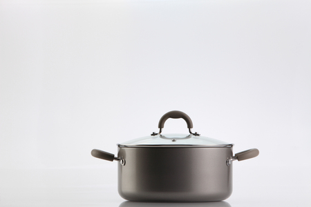 Cooking pot isolated on white background Фото со стока