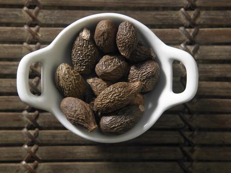 top view of the malva nut