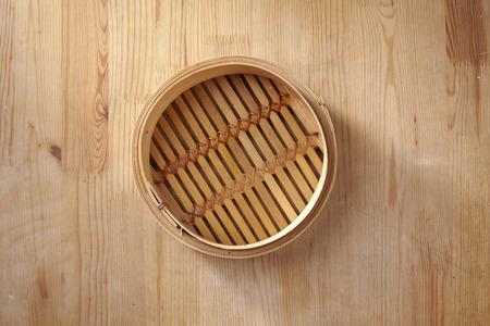 Bamboo steamer, chinese kitchenware