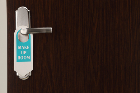 door sign clean up my room hang on door handle