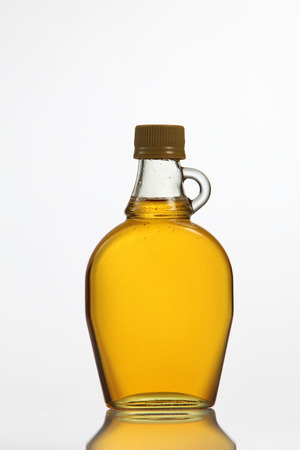 bottle of pure agave syrup