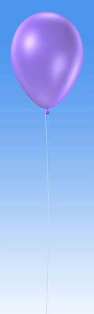 3d rendering on the single balloon
