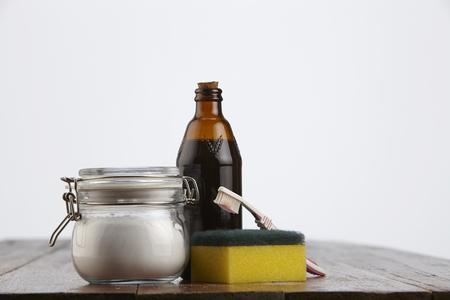 baking soda with malt vinegar