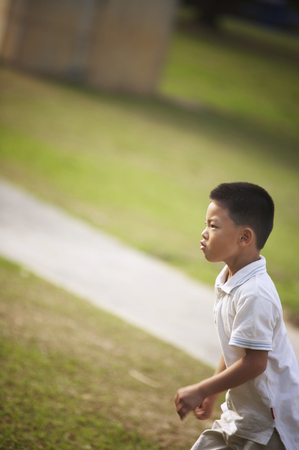 Boy at the park