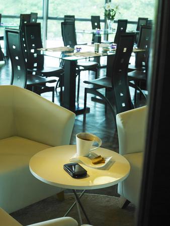 Interior design of cafe Archivio Fotografico