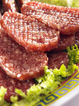 Barbecued pork