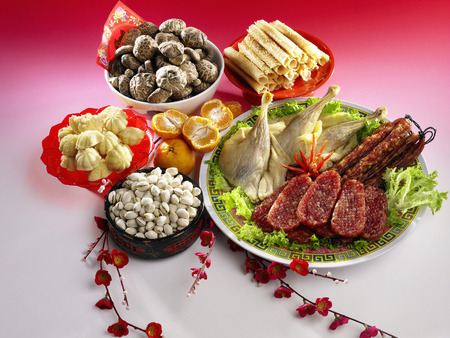 Chinese new year delicacy Imagens