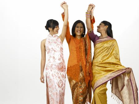 three malaysia young women