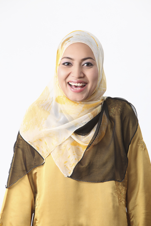 Stock image of a malay woman. 스톡 콘텐츠