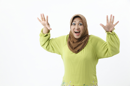 Senior woman with happy expression