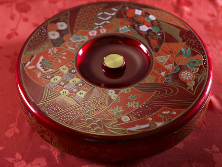 traditional chinese candy tray