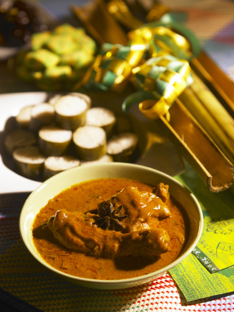 malay traditional festive food Stock Photo