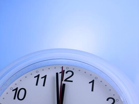 Time shows One Minute to 12 Reklamní fotografie