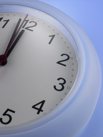 Time shows One Minute to 12