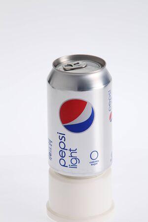 Kuala Lumpur,Malaysia.Jan 6, 2016,pepsi cola can isolated on white background