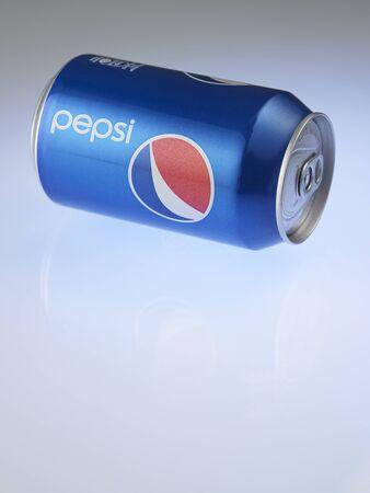 KUALA LUMPUR, MALAYSIA - July 2nd 2015,Aluminum can of Pepsi Cola produced by PepsiCo Inc.