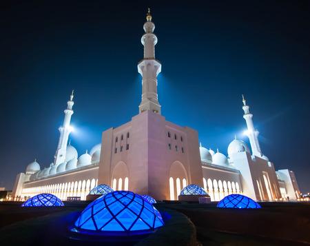 Grand Mosque, Abu Dhabi, UAE, United Arab Emirates