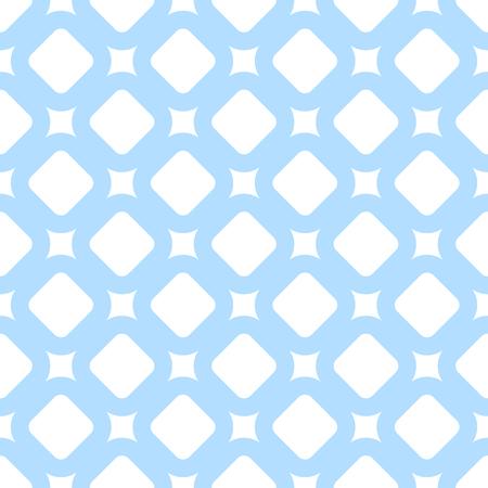 light blue geometric seamless pattern in flat modern style