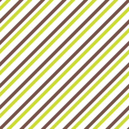 seamless striped pattern in green and brown colors Ilustração